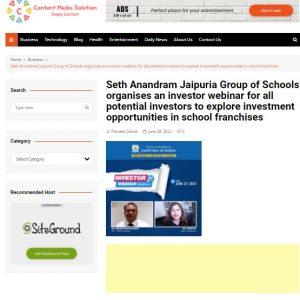 content media solution - 28th june